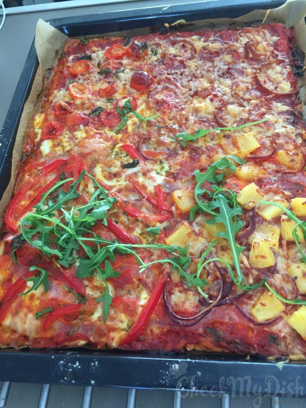 Pizza met variatie