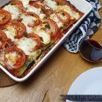 Vegetarische lasagne met gegrilde groenten