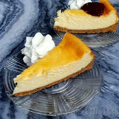 Cheesecake slagroom marmer